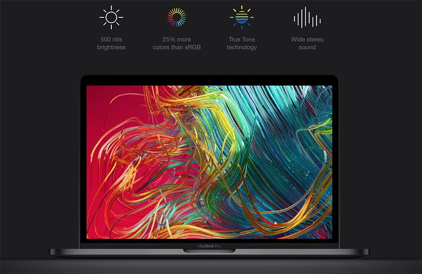 Apple MacBook PRO MWP42 with Touch Bar 2020, Core i5, 13.3 inch, RAM 16GB,  512GB SSD, Space Grey - eXtra Saudi